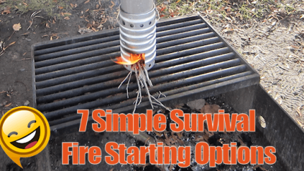 Survival Fire Starting Options